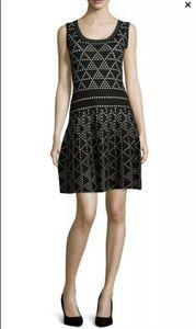 NANETTE LEPORE Diamond Dazzle Woven Dress